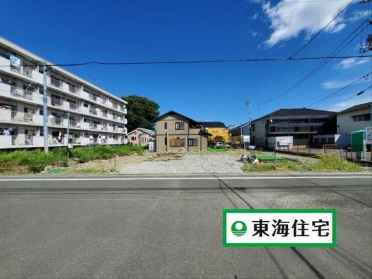 (現地写真)現地見学OK!最新の建築状況や周辺環境などを体感してみませんか?