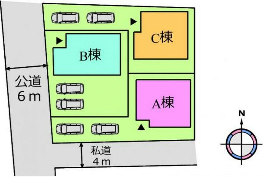 (区画)2台駐車可能〇車通勤の共働き夫婦にぴったり^^