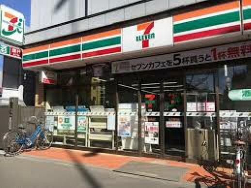 コンビニ セブン-イレブン 桜上水駅北店まで472mです。
