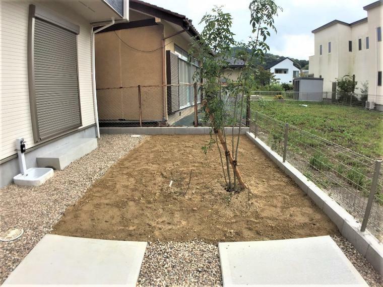 庭 広々としたお庭ではお子様を遊ばせたり、ガーデニングや家庭菜園などお好みにお楽しみいただけます。
