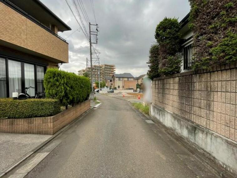 現況写真 前面道路写真