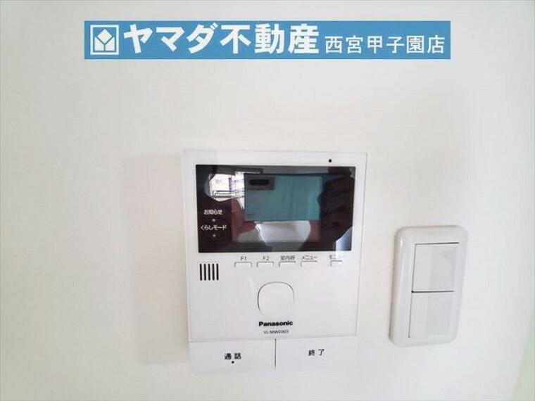 防犯設備 TVモニター付きインターホン