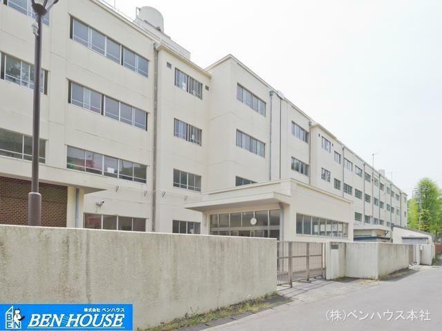 中学校 横浜市立大道中学校 距離840m