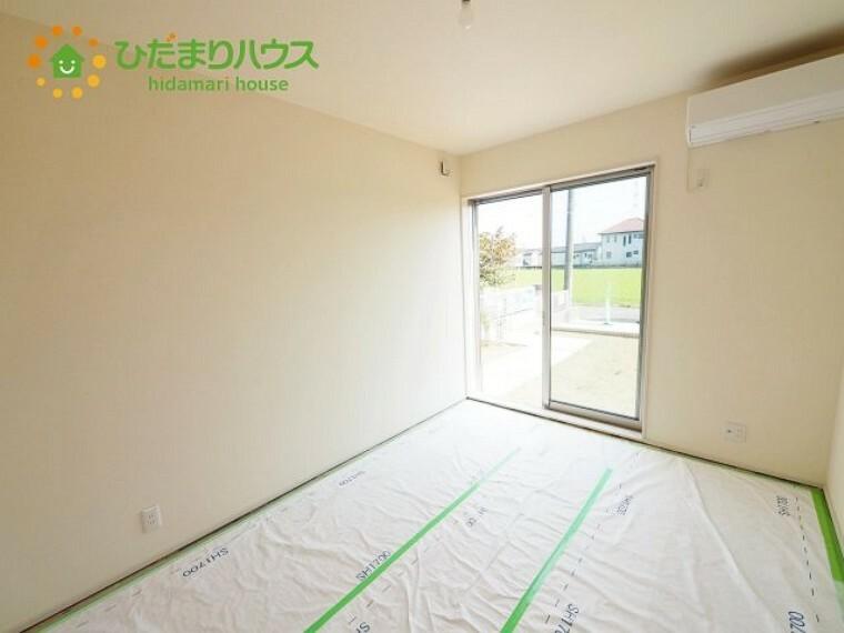 和室 家事を行ったり、趣味のスペースや団らんのスペースとしてもマルチに活用できます。