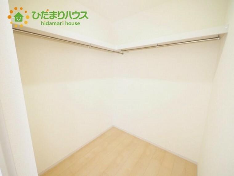 収納 全室にクローゼットが付いていて、お部屋の住空間もスッキリ広々つかえそうです(^^)/