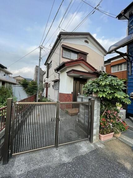 現況写真 建築条件なし 京浜東北線「蕨駅」徒歩10分の立地