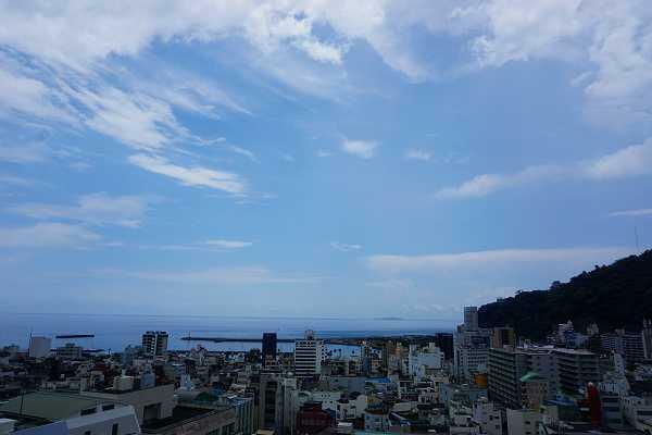 屋上ルーフテラスからの眺望