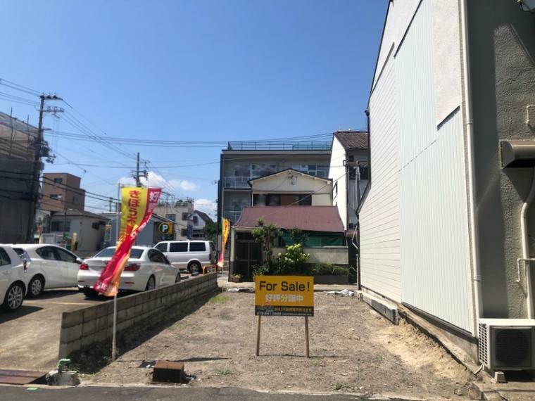 現況外観写真 地下鉄「和田岬」駅まで徒歩約5分の好立地に新築戸建が誕生!利便性と穏やかな住環境に恵まれた、理想の暮らしが実現できる家。