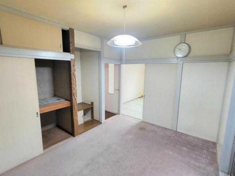 【リフォーム前】1階 中央6畳和室