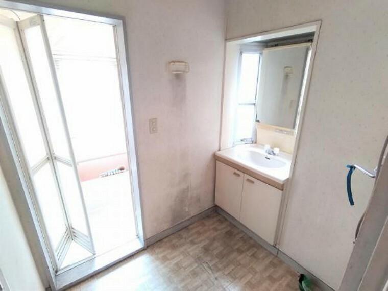 洗面化粧台 【リフォーム前】1階 洗面所