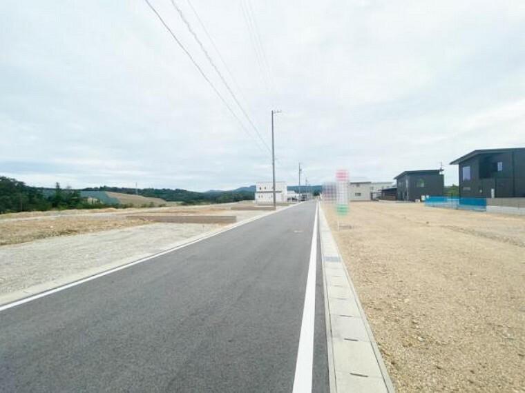 現況写真 前面道路 2021年9月23日撮影
