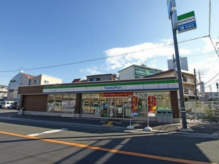 コンビニ 【コンビニエンスストア】ファミリーマート 寝屋川池田本町店まで481m