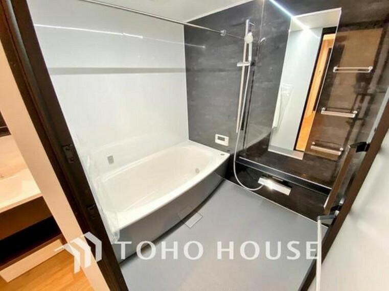 浴室 快適且つ清潔な空間を演出した浴室は一日の疲れを和らげ、心も体もオフになる時間を楽しむことが可能です。