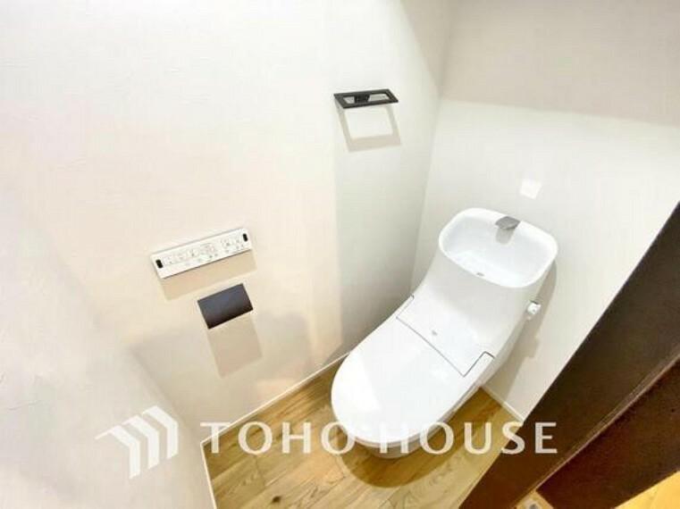 トイレ トイレ関係の設備も一新されています。節水付き便座です。