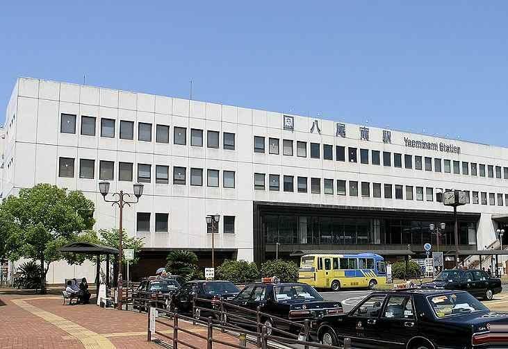 周辺の街並み 大阪メトロ谷町線八尾南駅