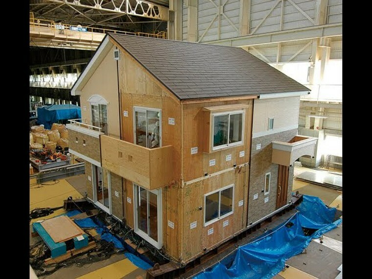 外観・現況 耐震性能実験 耐震等級『3』を取得した地震に強い家