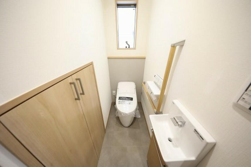 トイレ 1階のトイレになります。