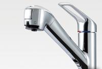 浄水器一体型ハンドシャワー水栓