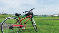 72台分の自転車置場
