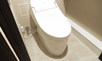 トイレ便器グレードアップ