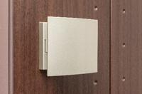 プッシュプルハンドル付き玄関ドア