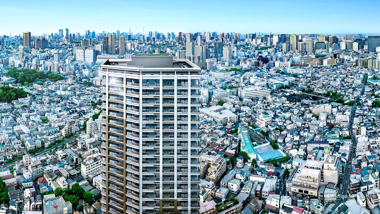 シティタワー武蔵小山の外観画像