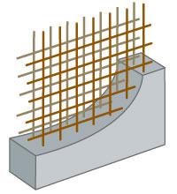構造強度を高める『ダブル配筋』