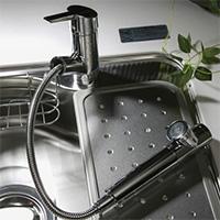 浄水器一体型C1ハンドシャワー水栓