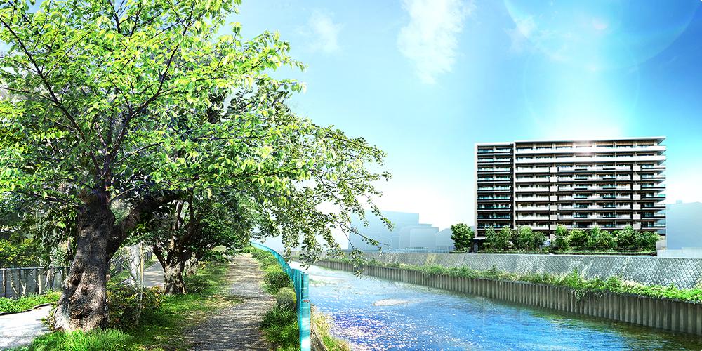 プラウド湘南藤沢ガーデンの外観画像