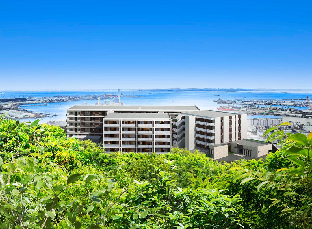 クレストレジデンス横浜 SKY VIEW SHIOMIDAIの外観画像