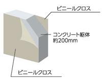 厚さ約200mmの戸境壁