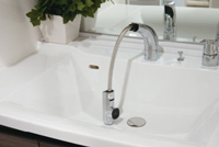 可動タイプシャワー水栓
