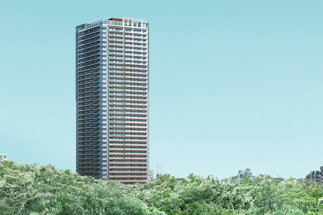 パークシティ武蔵小山 ザ タワーの外観画像