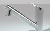 浄水器一体型シャワー水栓