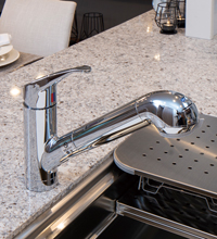 浄水器機能付シャワー水栓