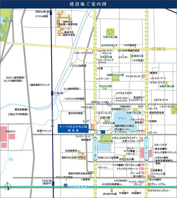 2020年7月8日調べ<現地案内図>