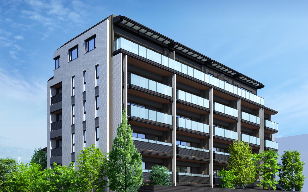 パークホームズ駒沢大学の外観画像