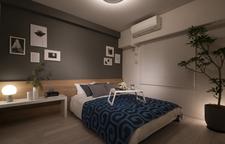Master Bedroom(Cタイプモデルルームパッケージプラン(有償))