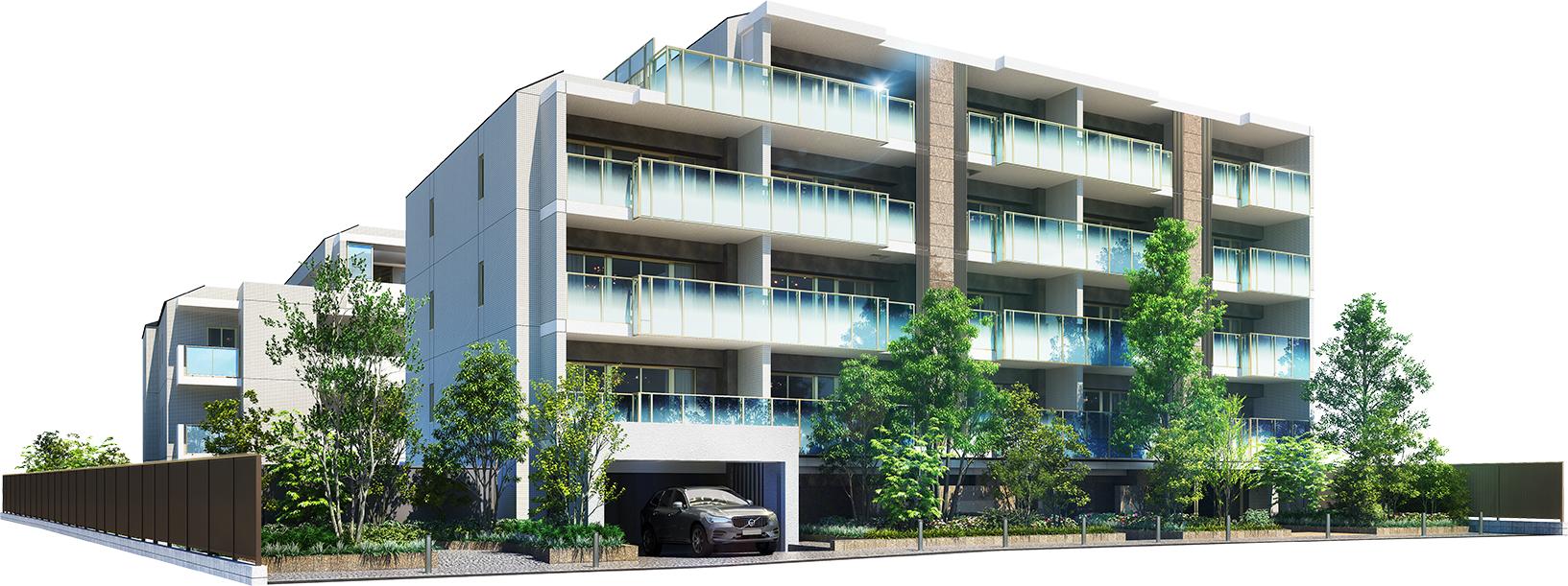 ザ・パークハウス 駒沢レジデンスの外観画像