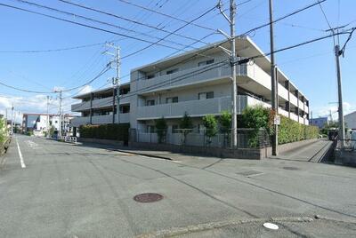 サンクレイドル清水柿田川の外観