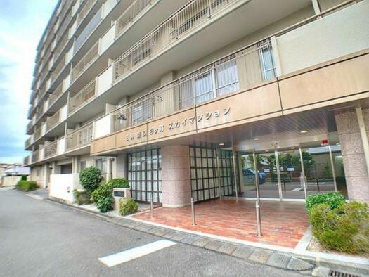 日興奈良杉ケ町スカイマンションの外観